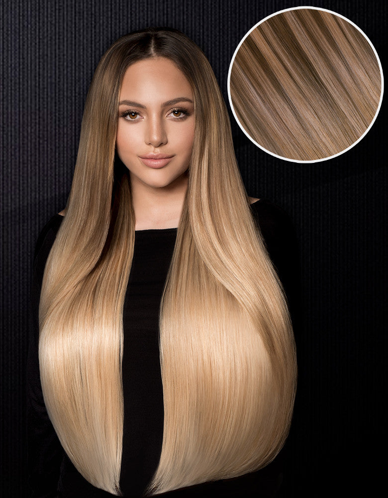 Bellami Hair Nathalie Paris Extensions 240g 22 Medium Ash Brown 21 Bronde 23