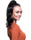 "BELLAMI It's A Wrap Ponytail 16"" 80g Off Black (#1B) Human Hair"