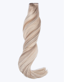 "BELLAMI Silk Seam 140g 18"" Pearl Blonde Highlight Hair Extensions"