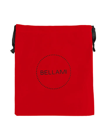 BELLAMI Red Velvet Bag