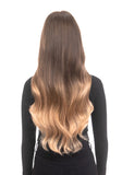 "BELLAMI Silk Seam 180g 20"" Ash Bronde/Strawberry Blonde Ombre (21/27) Hair Extensions"