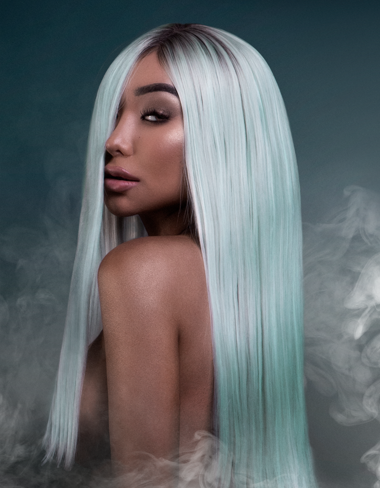 Nikita Dragun Synthetic Wig Saphira Bellami Hair