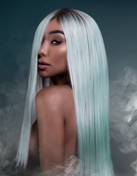 Nikita Dragun Synthetic Wig Saphira