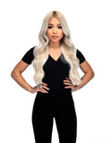 "Platinum Perfection by Zach Mesquit 18"" 140g Tan Lines Hair Extensions"