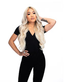 "Platinum Perfection by Zach Mesquit 22"" 240g Tan Lines Hair Extensions"