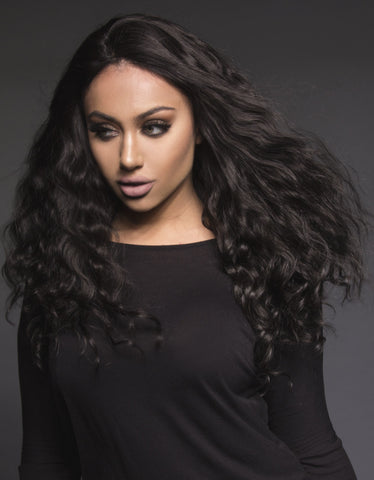 "BELLAMI Human Hair Wig Xenia 22"" Body Wave"