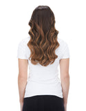 "BELLAMI Silk Seam 140g 16"" Almond Brown (7) Hair Extensions"