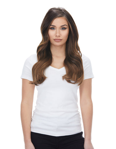 "Bambina 160g 20"" Almond Brown (7) Hair Extensions"