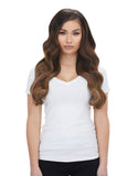 "BELLAMI Silk Seam 240g 22"" Almond Brown (7) Hair Extensions"