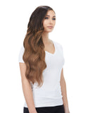 "BELLAMI Silk Seam 360g 26"" Almond Brown (7) Hair Extensions"