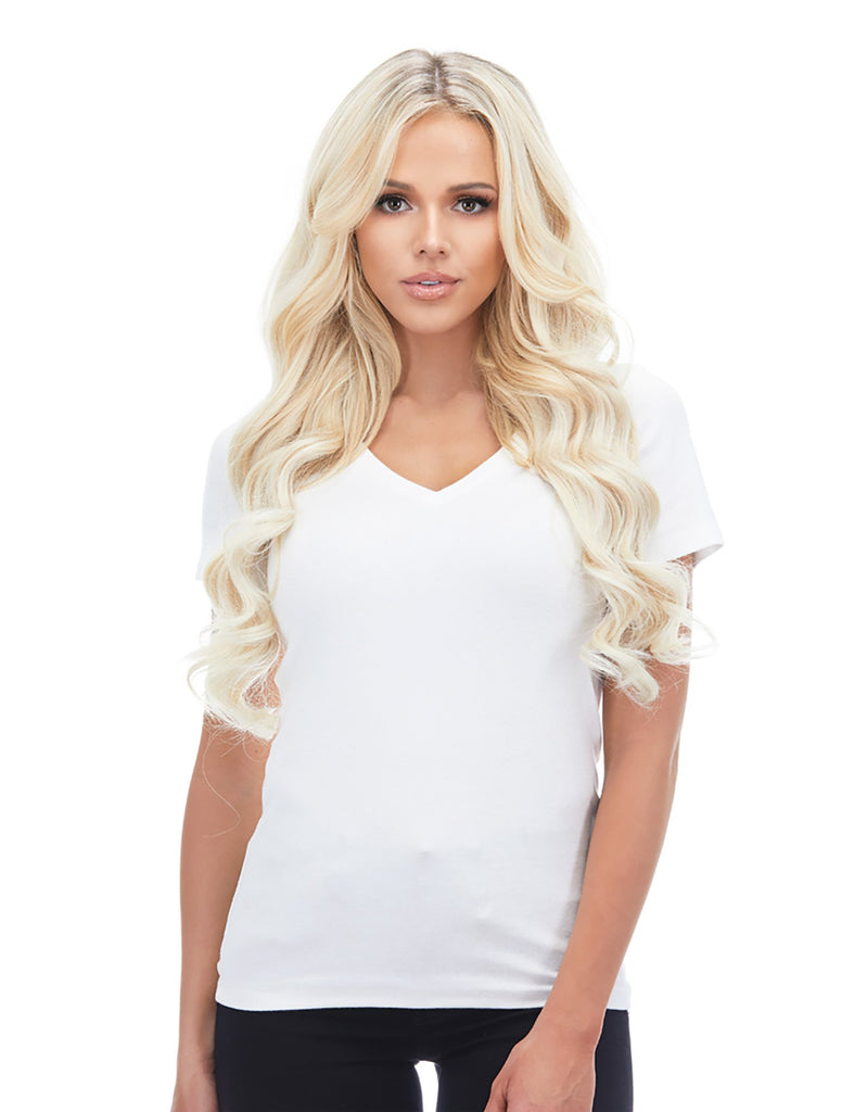 "BELLAMI Silk Seam 240g 22"" Ash Blonde (60) Hair Extensions"