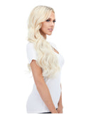 "BELLAMI Silk Seam 260g 24"" Ash Blonde (60) Hair Extensions"