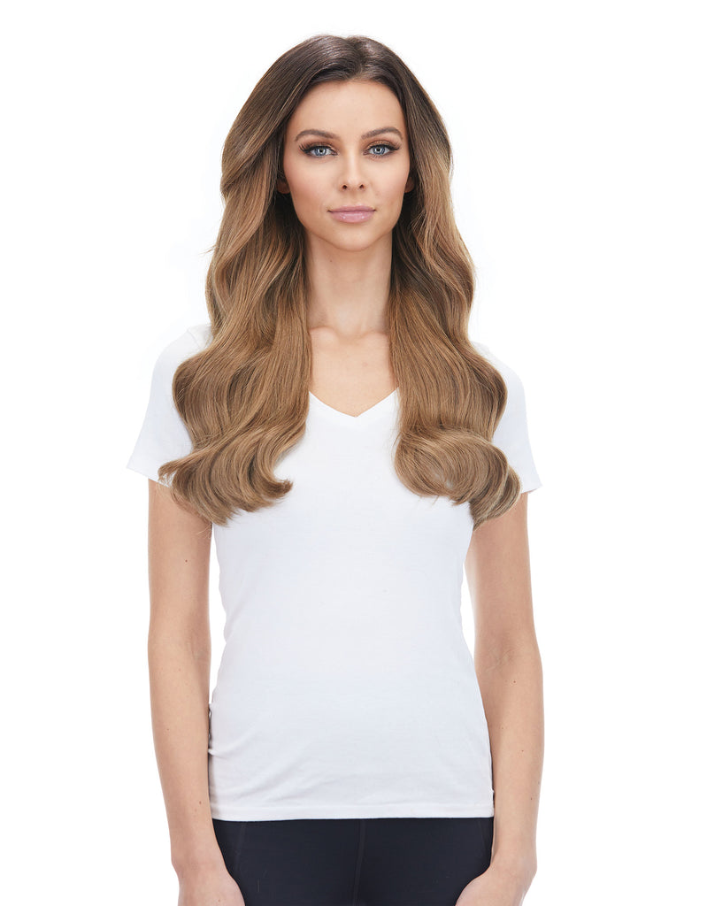 "KHALEESI 280g 20"" Ash Brown (8) Hair Extensions"