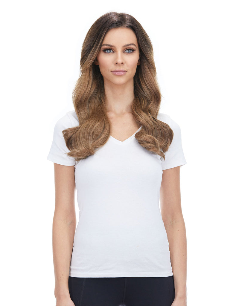 "BELLAMI Silk Seam 140g 18"" Ash Brown (8) Hair Extensions"