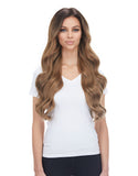 "BELLAMI Silk Seam 360g 26"" Ash Brown (8) Hair Extensions"