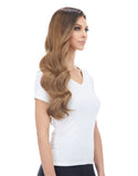 "BELLAMI Silk Seam 260g 24"" Ash Brown (8) Hair Extensions"