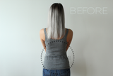 "Samantha 120g 18"" Sterling Silver Hair Extensions"