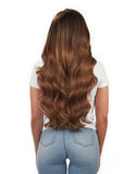 "BELLAMI Silk Seam 260g 24"" Chestnut Brown (6) Hair Extensions"