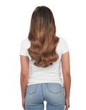 "BELLAMI Silk Seam 140g 18"" Chestnut Brown (6) Hair Extensions"
