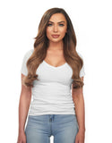 "BELLAMI Silk Seam 180g 20"" Chestnut Brown (6) Hair Extensions"