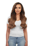 "BELLAMI Silk Seam 240g 22"" Chestnut Brown (6) Hair Extensions"