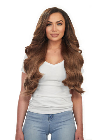 "BOO-GATTI 340G 22"" Chestnut Brown (6) Hair Extensions"