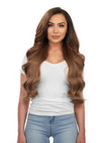 "Magnifica 240g 24"" Chestnut Brown (6) Hair Extensions"