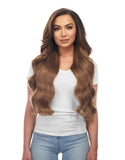 "BELLAMI Silk Seam 360g 26"" Chestnut Brown (6) Hair Extensions"
