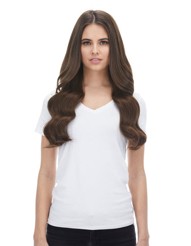 "BELLAMI Silk Seam 180g 20"" Chocolate Brown (4) Hair Extensions"