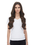 "BELLAMI Silk Seam 260g 24"" Chocolate Brown (4) Hair Extensions"