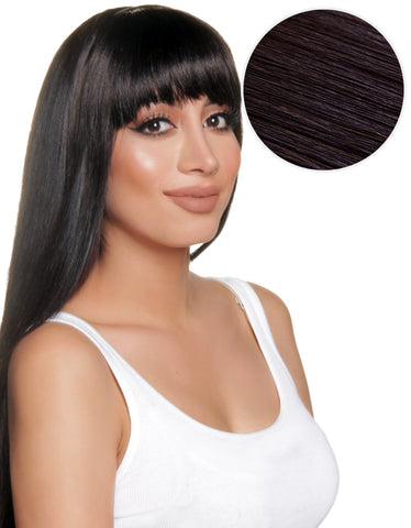 Cleopatra Clip In Bangs Off Black (1B)