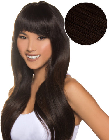 Cleopatra Clip In Bangs Mochachino Brown (1C)