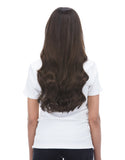 "BELLAMI Silk Seam 180g 20"" Dark Brown (2) Hair Extensions"