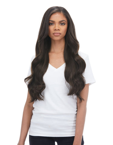 "BELLAMI Silk Seam 240g 22"" Dark Brown (2) Hair Extensions"