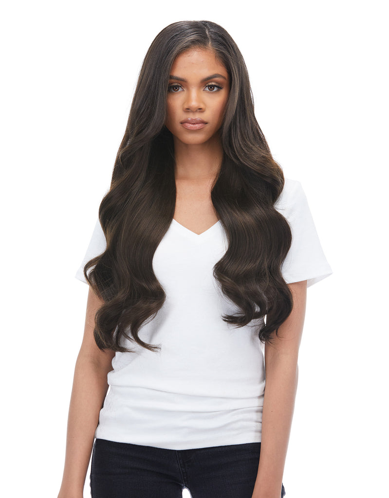 "Magnifica 240g 24"" Dark Brown (2) Hair Extensions"