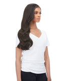 "BELLAMI Silk Seam 140g 18"" Dark Brown (2) Hair Extensions"