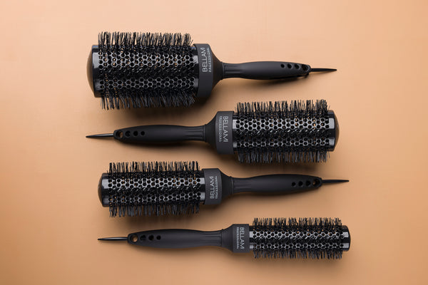 BELLAMI PROFESSIONAL ROUND NYLON STYLING BRUSHES