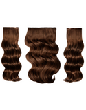 "BELLAMI BELL AIR 12"" 120g #4 CHOCOLATE BROWN Hair Extensions"