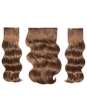 "BELLAMI BELL AIR 12"" 120g #8 ASH BROWN Hair Extensions"