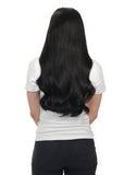 "BELLAMI Silk Seam 140g 18"" Jet Black (1) Hair Extensions"