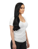 "BELLAMI Silk Seam 180g 20"" Jet Black (1) Hair Extensions"