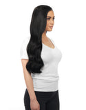 "BELLAMI Silk Seam 240g 22"" Jet Black (1) Hair Extensions"