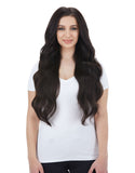 "BELLAMI Silk Seam 360g 26"" Mochachino Brown (1C) Hair Extensions"