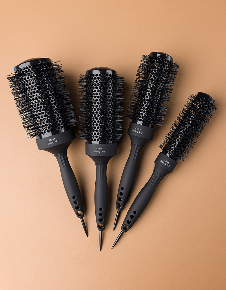 BELLAMI Professional Round Nylon Styling Brush