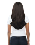 "BELLAMI Silk Seam 140g 16"" Off Black (1B) Hair Extensions"