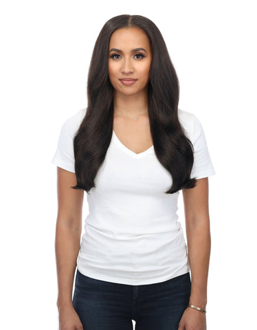 "BELLAMI Silk Seam 140g 18"" Off Black (1B) Hair Extensions"