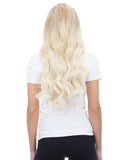 "BELLAMI Silk Seam 240g 22"" Platinum Blonde (80) Hair Extensions"