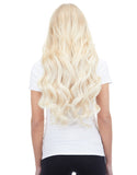 "BELLAMI Silk Seam 260g 24"" Platinum Blonde (80) Hair Extensions"