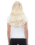 "Piccolina 120g 18"" Platinum Blonde (80) Hair Extensions"
