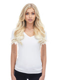 "BELLAMI Silk Seam 140g 16"" Platinum Blonde (80) Hair Extensions"